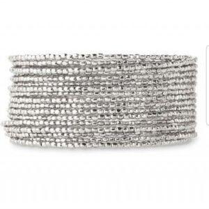 EUC Stella & Dot Bardot Bracelet Silver